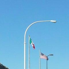 Photo taken at Puente Internacional Santa Fe (Paso Del Norte) by Andres S. on 2/16/2013