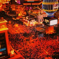 Photo taken at The Las Vegas Strip by Denis V. on 1/1/2013