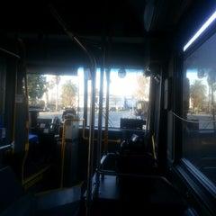 Photo taken at Bus Stop Orlando Transfer Station by Scott W. on 2/14/2013