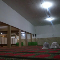 Photo taken at Masjid Agung Baitussalam by FQíëëy A. on 7/16/2013