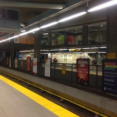 Photo taken at Broadway - City Hall SkyTrain Station by Cameron F. on 11/8/2012