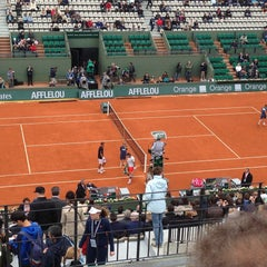 Photo taken at Court Suzanne Lenglen by Nessim D. on 5/31/2013