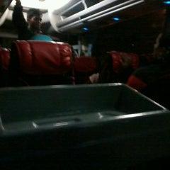 Photo taken at Cipaganti Tourism Bus by Arsyesung on 11/1/2013