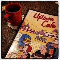 Photo taken at Uptown Cafe by Mitzi L. on 9/22/2012