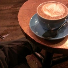 Photo taken at Bluebird Coffee Shop by JC on 11/7/2012