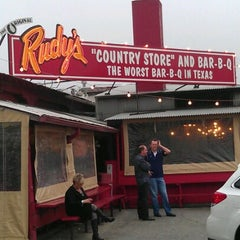 Photo taken at Rudy's Country Store & Bar-B-Q by Esteban A. on 12/31/2012