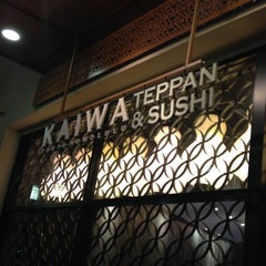 Photo taken at Kaiwa Teppan & Sushi by Yuko N. on 7/19/2015