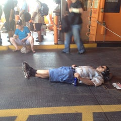 Photo taken at Staten Island Ferry Boat - John A. Noble by ED on 7/8/2013