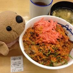 Photo taken at 松屋 高田馬場店 by きなこ・x・ on 12/11/2012