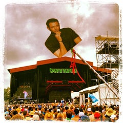 Photo taken at What Stage at Bonnaroo Music & Arts Festival by Pete B. on 6/16/2013