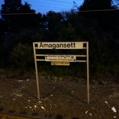 Photo taken at LIRR - Amagansett Station by Fred W. on 8/31/2015