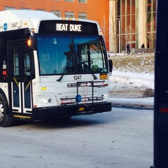 Photo taken at College Place Bus Stop by Molly K. on 1/30/2014