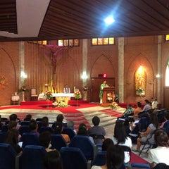 Photo taken at Saint John's Church by Angie J. on 2/15/2015