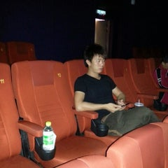 Photo taken at Golden Screen Cinemas (GSC) by Andrew A. on 12/30/2012