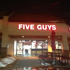Photo taken at Five Guys by Fahad A. on 2/28/2013
