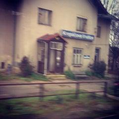 Photo taken at Železniční stanice Kropáčova Vrutice by Petr Ž. on 11/17/2013
