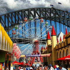 Photo taken at Luna Park by Shane H. on 4/1/2013