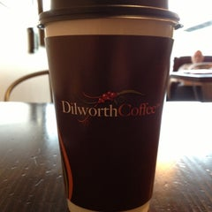 Photo taken at Dilworth Coffee House - The Original by Stephen C. on 10/7/2012