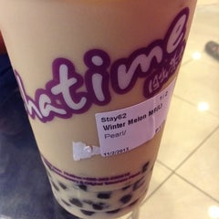 Photo taken at Chatime by Thesa R. on 11/2/2013