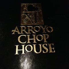 Photo taken at Arroyo Chop House by James Jung on 1/18/2013