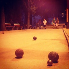 Photo taken at Little Italy Bocce Court by Roswell E. on 9/15/2012