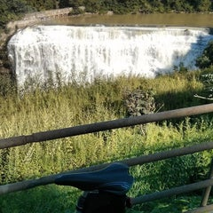Photo taken at Lower Falls Park by Mike J. on 8/17/2014