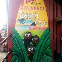 Photo taken at Kalapaki Beach Hut Burgers by Mandy D. on 1/6/2013
