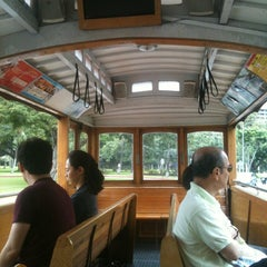 Photo taken at Waikiki Trolley by Mandy D. on 1/14/2013