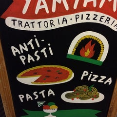 Photo taken at YamYam Trattoria Pizzeria by Juriaan V. on 11/8/2014