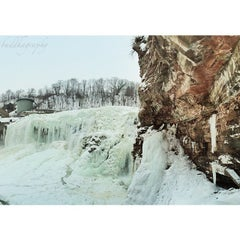Photo taken at Lower Falls Park by Graham G. on 2/25/2015