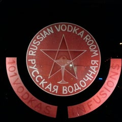 Photo taken at Russian Vodka Room by Anastasiya K. on 12/16/2012