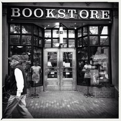 Photo taken at Boulder Bookstore by Davey T. on 3/23/2013