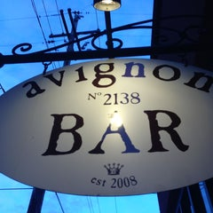 Photo taken at Bar Avignon by Matthew B. on 6/26/2013