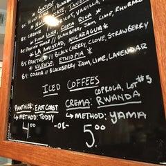 Photo taken at Spitfire Coffee by Matthew B. on 10/23/2015