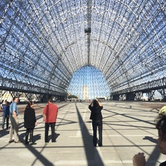 Photo taken at Hangar One (Building 1) by Kevin S. on 10/22/2014