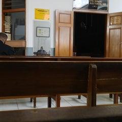 Photo taken at Pengadilan Negeri Jakarta Selatan by Yuda S. on 9/23/2014
