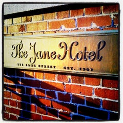 Photo taken at The Jane Hotel by Logan D. on 9/30/2012