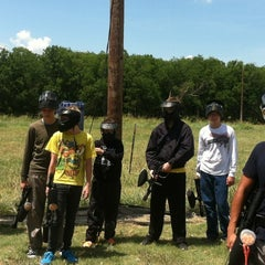 Photo taken at Official Paintball by Kelli V. on 8/4/2013