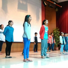 Photo taken at Auditorium Falkulti Pendidikan Universiti Malaya by Siti Aishah A. on 12/14/2015