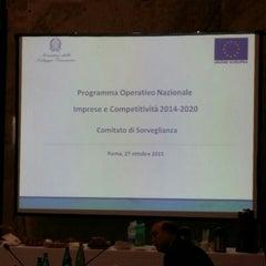 Photo taken at Ministero dello Sviluppo Economico by Massimiliano P. on 10/27/2015