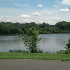 Photo taken at Core Creek State Park by Julie L. on 6/19/2013