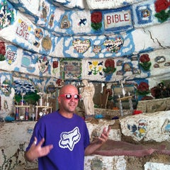 Photo taken at Salvation Mountain by cmlwastaken on 10/13/2012