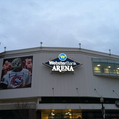 Photo taken at Webster Bank Arena by Michael-John K. on 12/1/2012