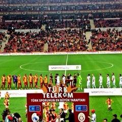 Photo taken at Türk Telekom Arena by Behcet S. on 11/1/2013