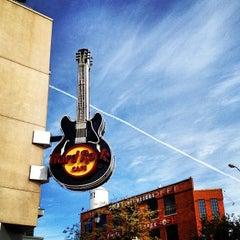Photo taken at Hard Rock Cafe Dallas by Jonathan L. on 12/27/2012