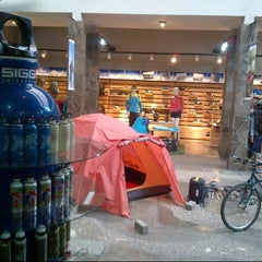 Photo taken at Eiger Adventure Store by Fr A. on 7/20/2013
