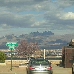 Photo taken at Roadrunner Rest Area by Pat M. on 3/10/2013