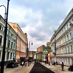 Photo taken at Большая Дмитровка by Anton Z. on 9/8/2013