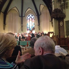 Photo taken at Packer Memorial Church by Cheryl B. on 5/3/2014