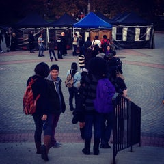 Photo taken at Hornbake Plaza by Laura M. on 10/29/2013